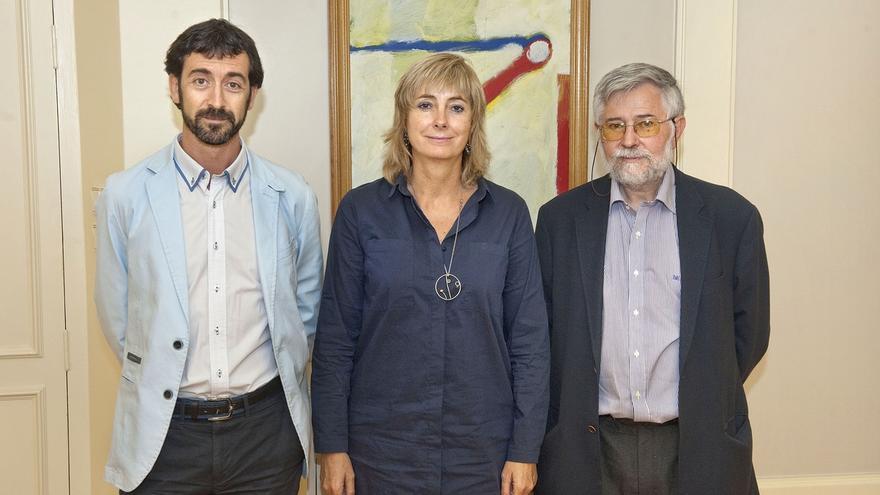 Ollo se reúne con el director del Memorial para las Víctimas del Terrorismo