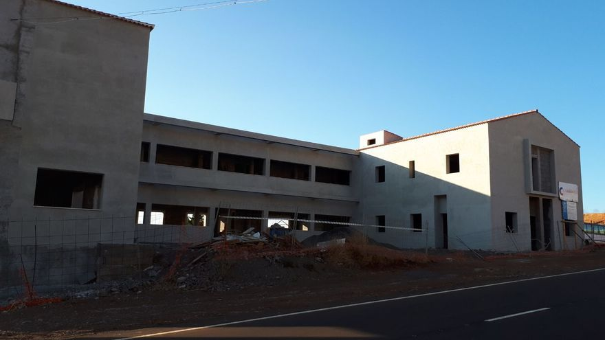 En la imagen, la Residencia de Mayores de Garafía.