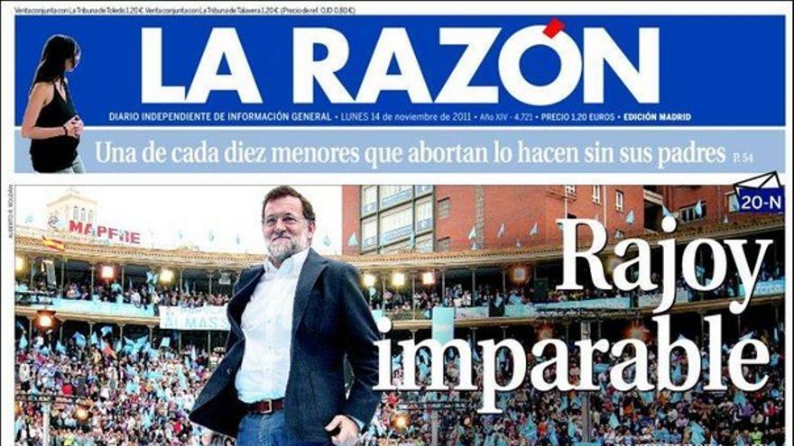 De las portadas del día (14/11/2011) #10