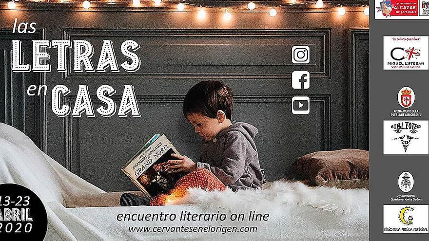'Las letras en casa', actividades para el Día del Libro