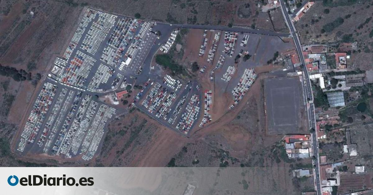 La Laguna denuncia en la Fiscalía la actividad sin licencia de una empresa que ocupa 100.000 metros cuadrados como depósito de vehículos