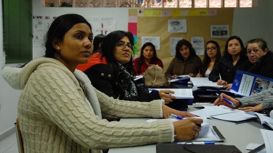 Cursos de empleo para mujeres inmigrantes