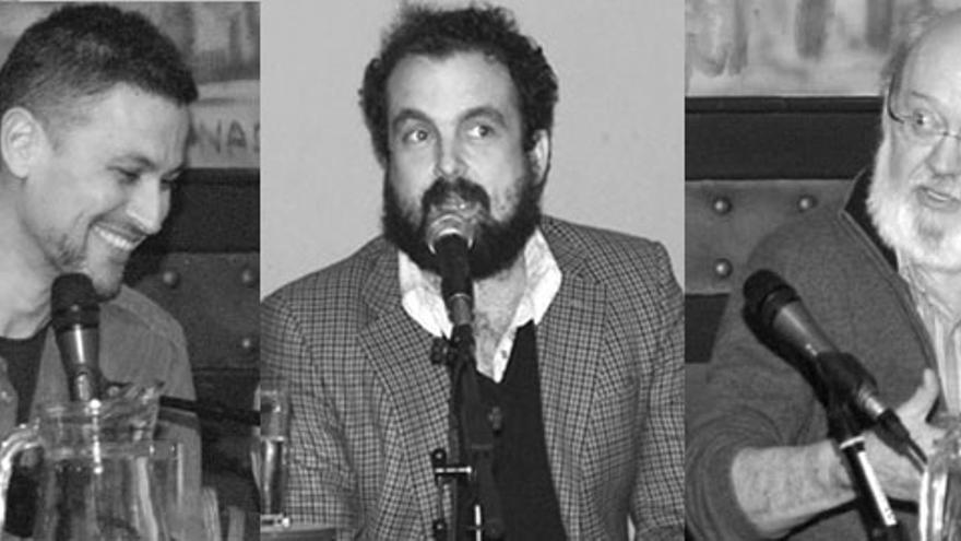 Rodrigo Cortés, Nacho Vigalondo y José Luis Cuerda, revueltos, pero no juntos