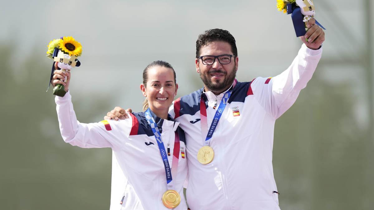 Fátima Gálvez y Alberto Fernández, oro olímpico en Tokio