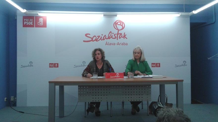 PSE pide aumentar en 21 millones de euros las inversiones de los PGE en Álava