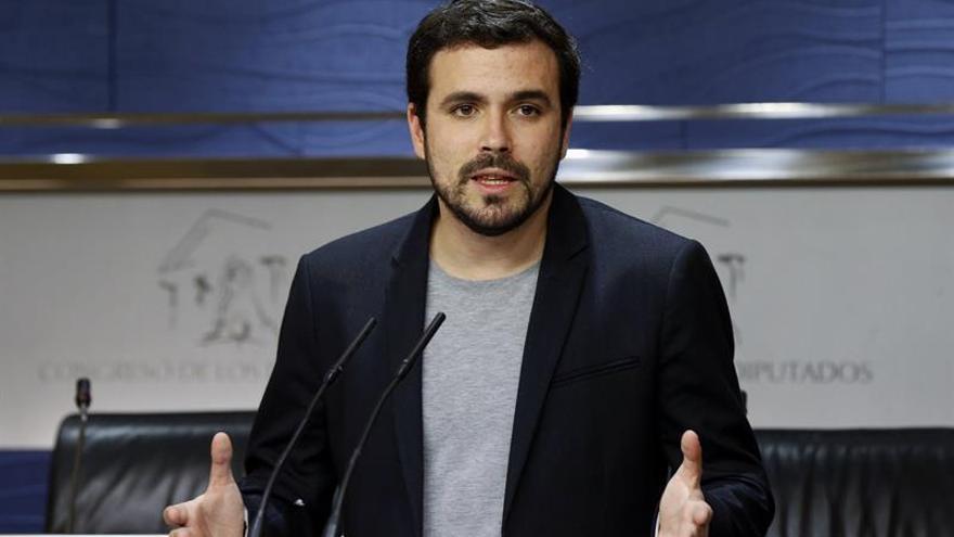 IU presentará una querella criminal contra Rajoy por firmar acuerdo UE-Turquía
