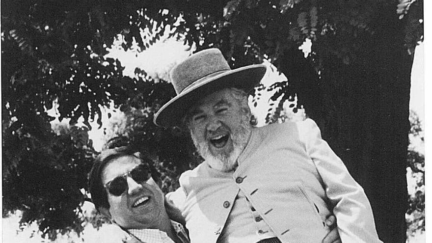 Javier de la Rosa con Manuel Prado
