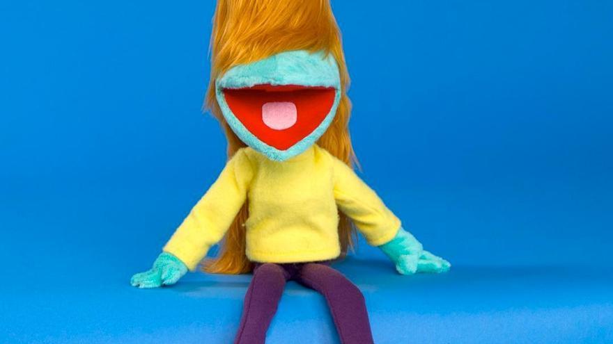 Muppet de Centramina, la genial protagonista de '¡Cuidado que te asesinas!'