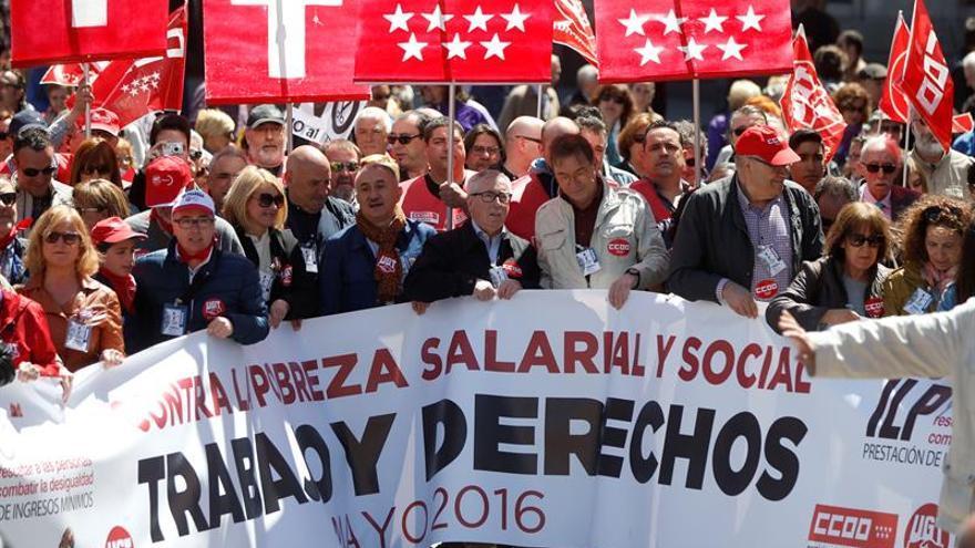 CCOO y UGT pedirán la derogación de la reforma laboral el Día del Trabajo