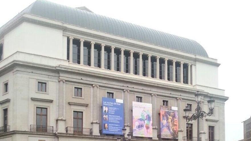 La Plaza de la Ópera en el tercer día de huelga de trabajadores de la limpieza. \ @fanetin