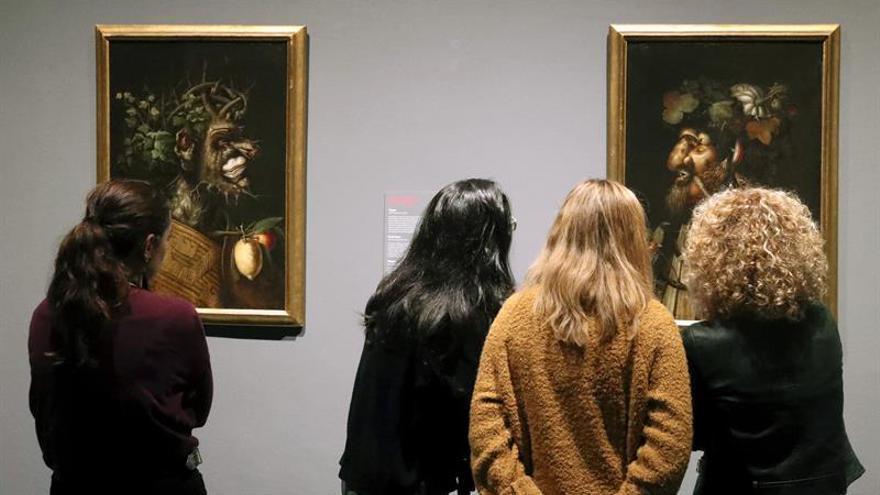 Las floridas obras de Arcimboldo existentes España, en el Bellas Artes de Bilbao