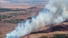 El EI afirma que ha derribado un avión de guerra sirio cerca de Damasco