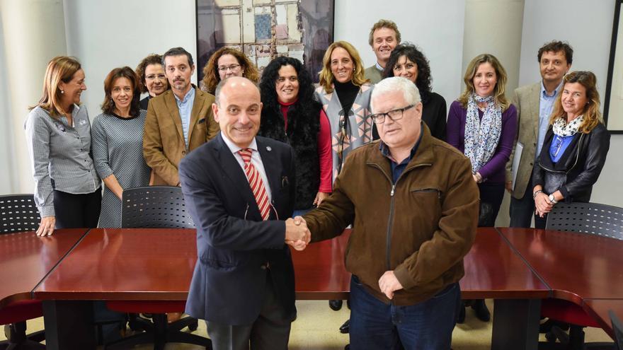 Siete miembros de la candidatura a rector de la ULPGC de Galván se suman a la plancha de Montoya
