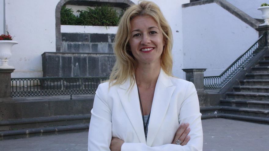 Virginia Espinosa, concejal de Turismo y Desarrollo Local  del Ayuntamiento de Santa Cruz de La Palma.
