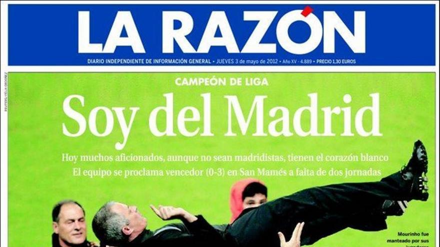 De las portadas del día (03/04/2012) #9