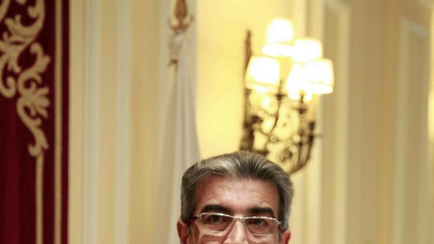 El diputado de Nueva Canarias, Román Rodríguez. (EFE/Cristóbal García)