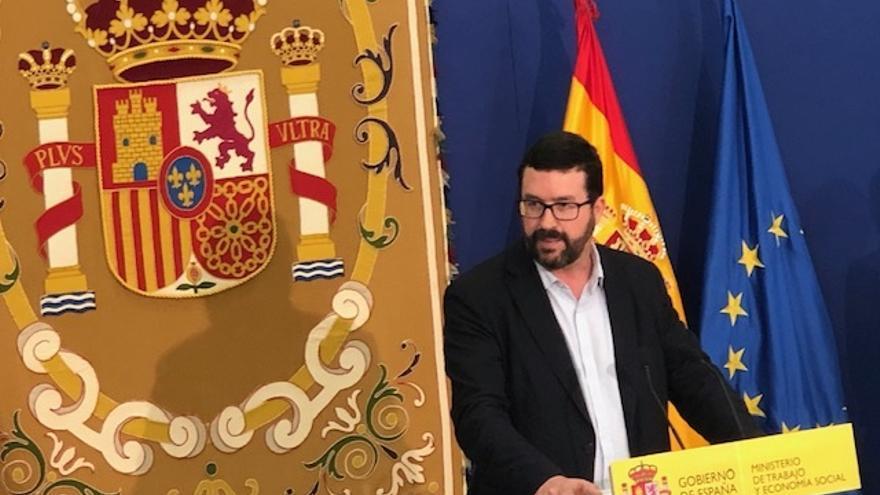 El secretario de Estado de Empleo, Joaquín Pérez Rey