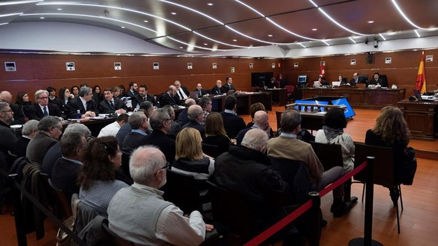 Juicio por el 'caso De Miguel' en la Audiencia Provincial de Álava