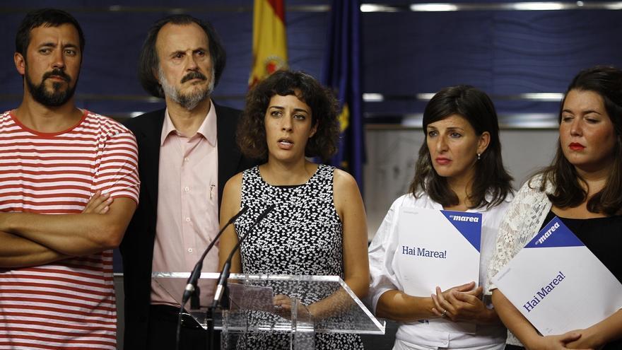 En Marea se integra en el grupo confederal de Unidos Podemos en el Congreso con portavoz y su marca en el nombre