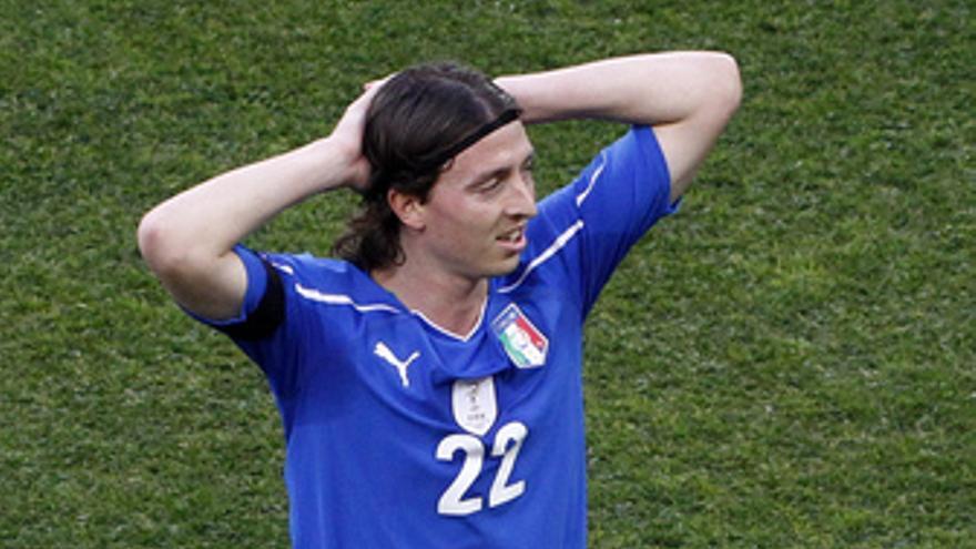 Monteolivo, jugador de Italia. (EUROPA PRESS)