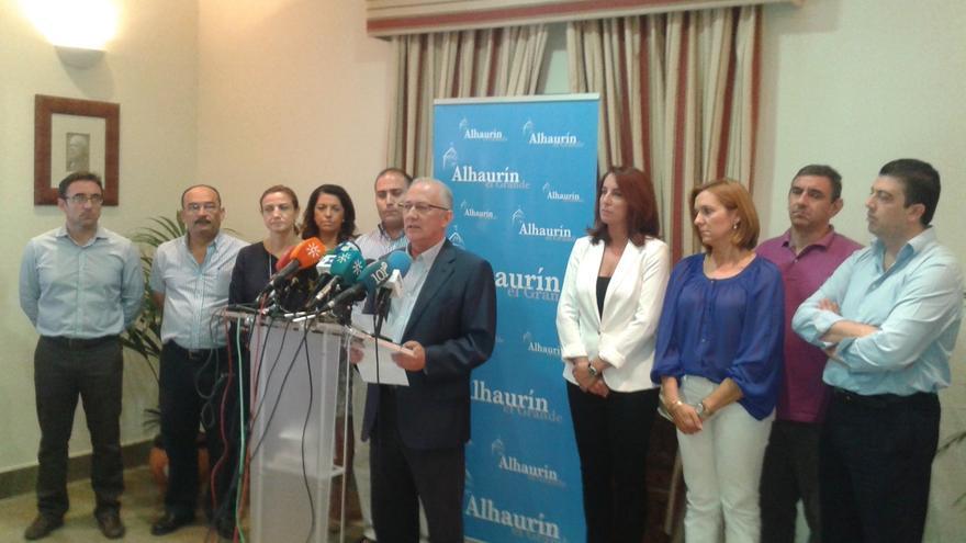 Martín Serón dejará la Alcaldía de Alhaurín el Grande y pide la baja del PP