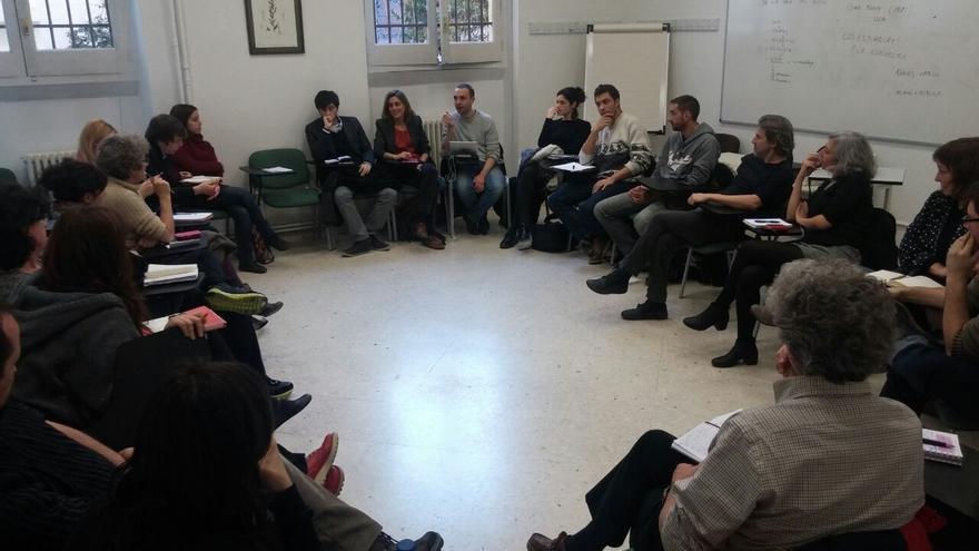 Reunión del Consejo Ciudadano de la Comunidad de Madrid.