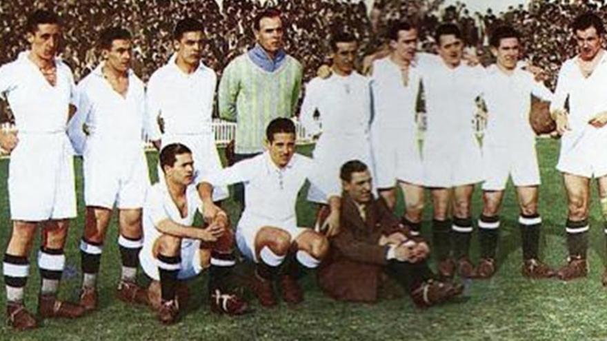 El Real Madrid de mediados de los años 30