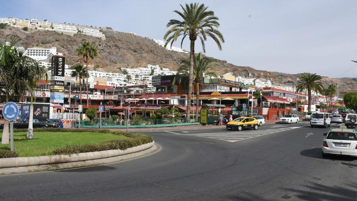 Centro Comercial de Puerto Rico, en el sur de la isla de Gran Canaria