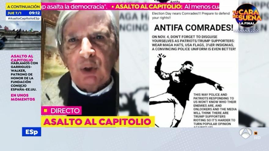 Roberto Centeno en 'Espejo Público'
