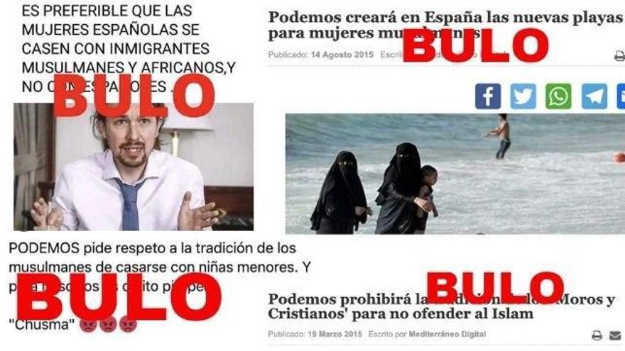 Falsas declaraciones de Podemos que se utilizan para estigmatizar al colectivo musulmán