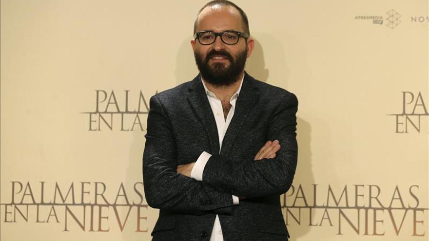 """""""Palmeras en la nieve"""" se ve en Monzón (Huesca) dos días antes de su estreno"""