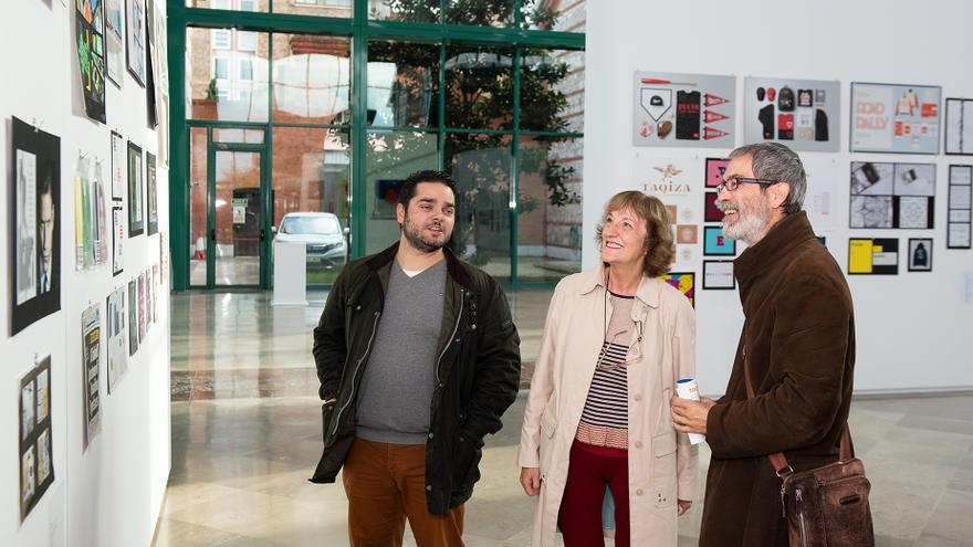 Presentación de exposiciones en Los Arenales