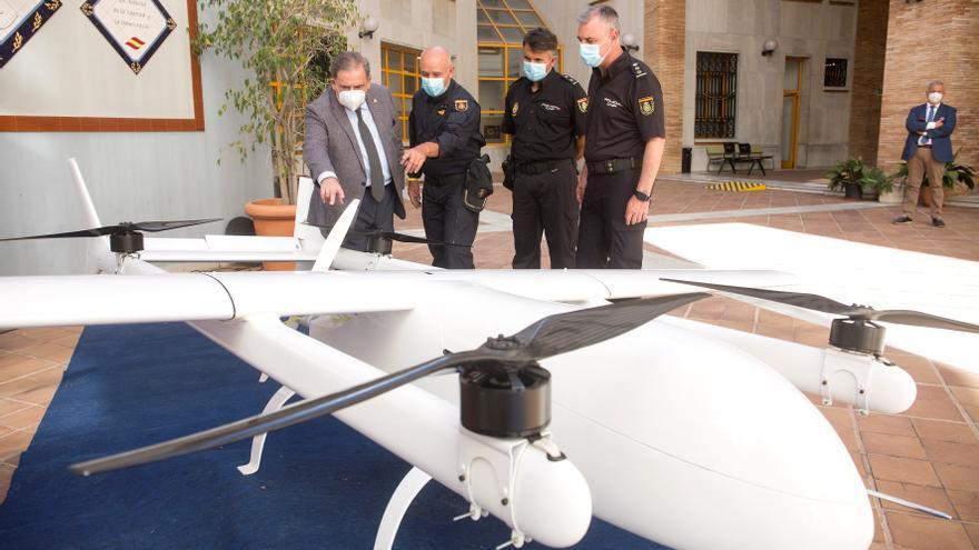 Intervienen un dron usado para transporte de droga entre Marruecos y España