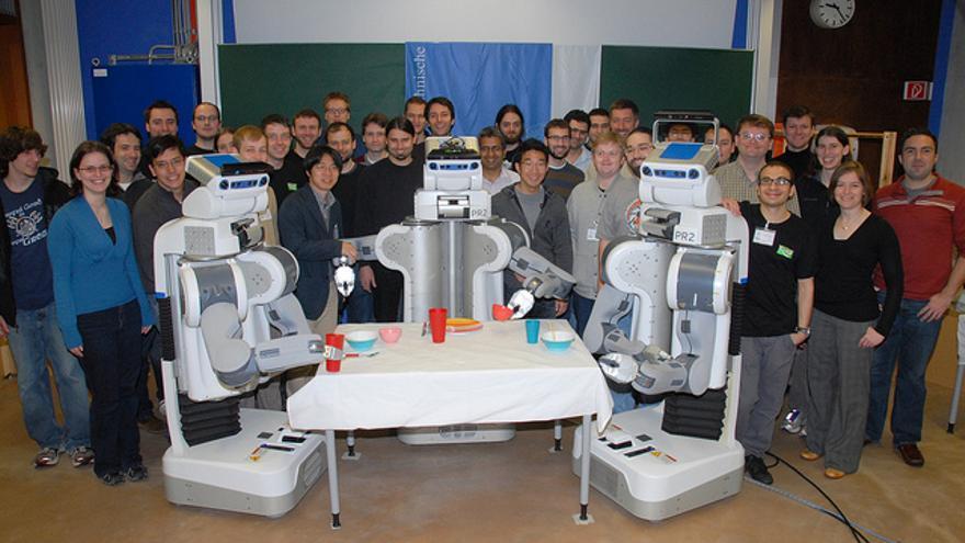 """Willow Garage se convirtió en un """"parque infantil"""" para los expertos en robótica"""