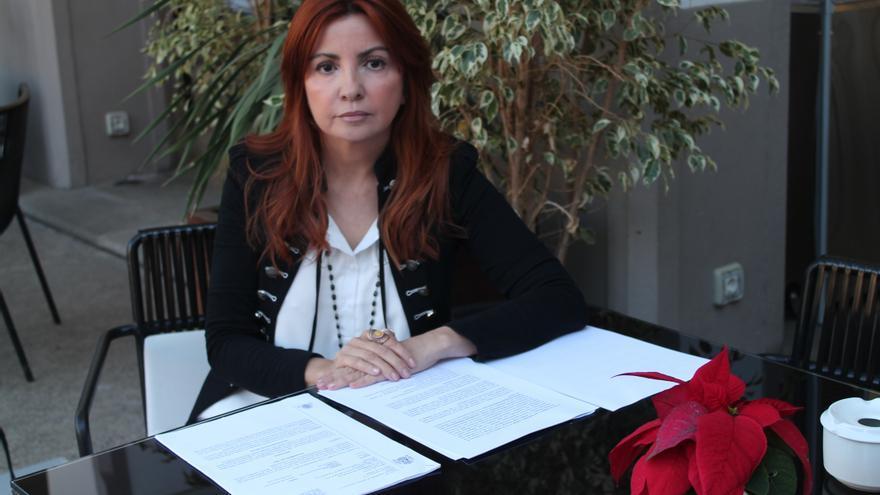 Alicia Rojas.