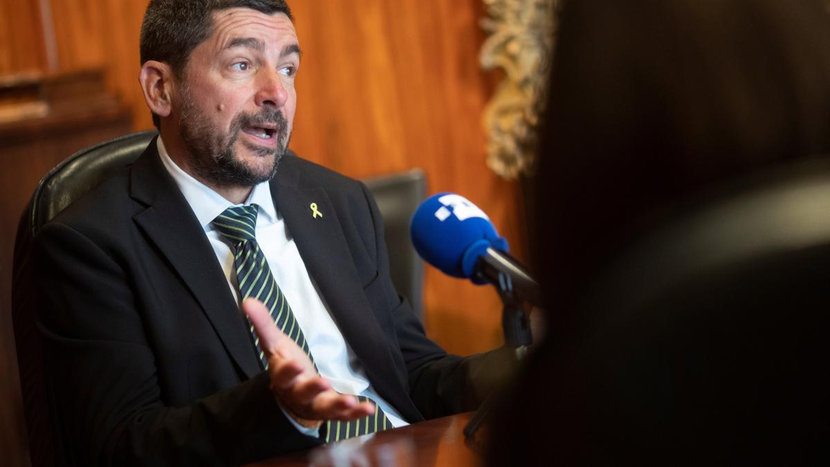 El expresidente de la Cambra de Barcelona y diputado de Junts, Joan Canadell.