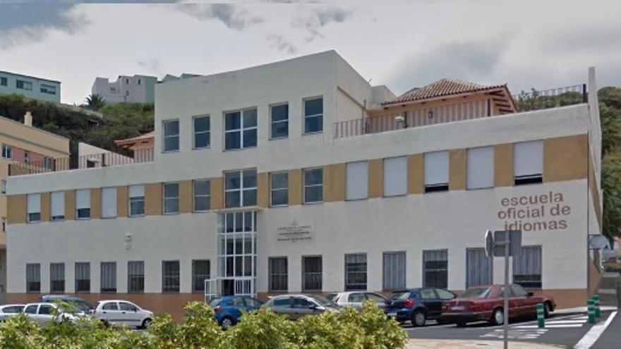 Escuela Oficial de Idiomas en Santa Cruz de La Palma.