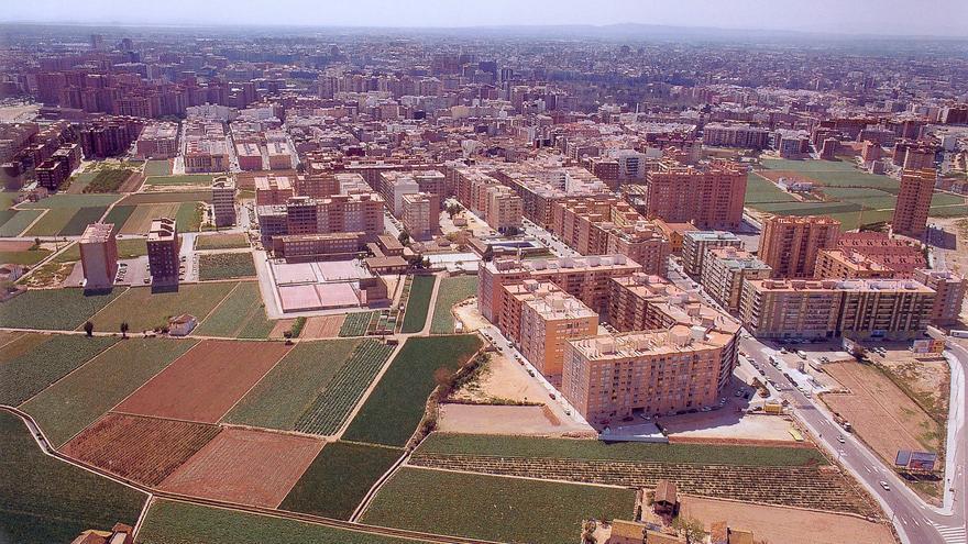 Huerta de Benimaclet,un barrio de Valencia.