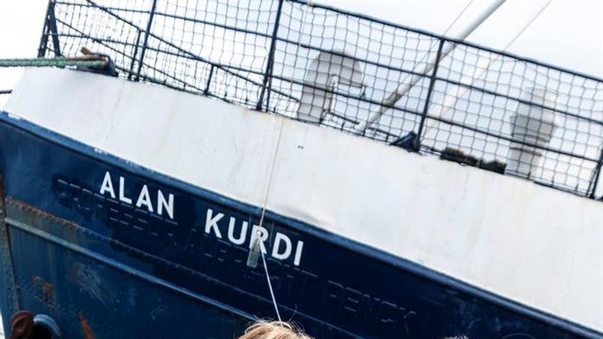 El barco de una ONG que rescata inmigrantes llevará nombre de niño Alan Kurdi