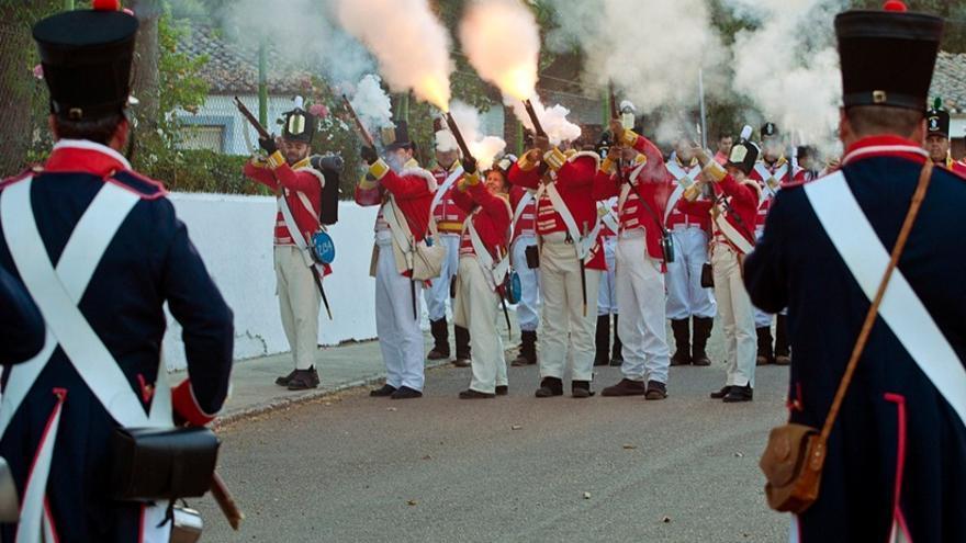 Recreación de la Batalla de La Albuera / http://www.turismoextremadura.com