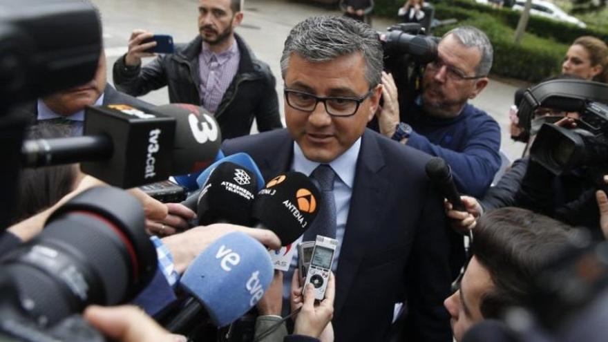 Cristóbal Grau, exconcejal de Deportes y actual asesor del PP, uno de los principales adjudicadores de los contratos investigados.