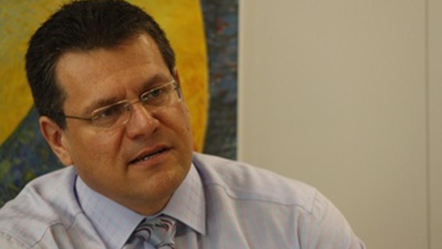 Maros Sefcovic, Vicepresidente De La Comisión Europea