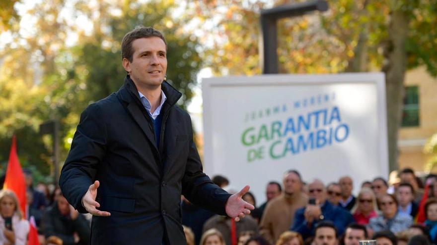 Pablo Casado en Granada