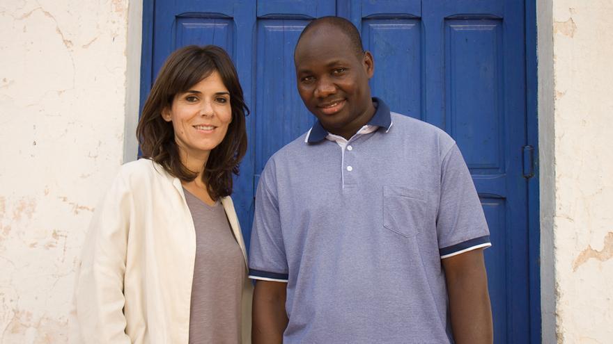 Teresa y Ousmane