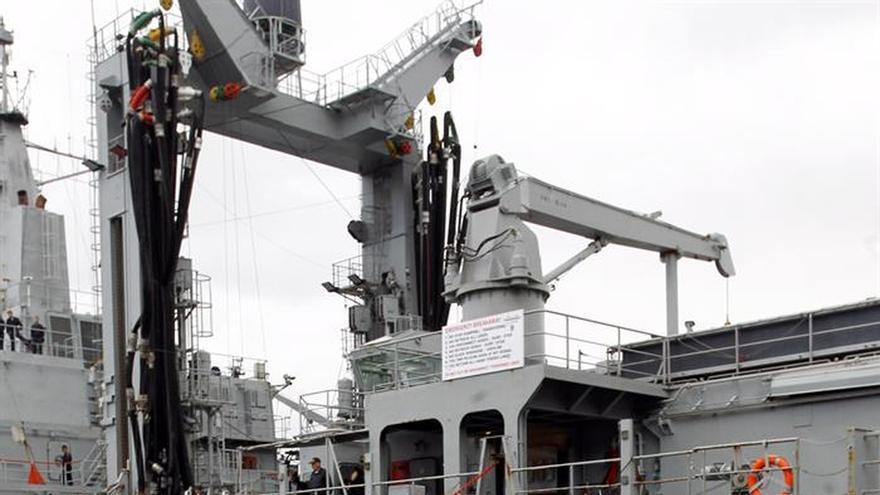 """El """"Patiño"""" deja Ferrol y se une a la operación Atalanta contra la piratería"""