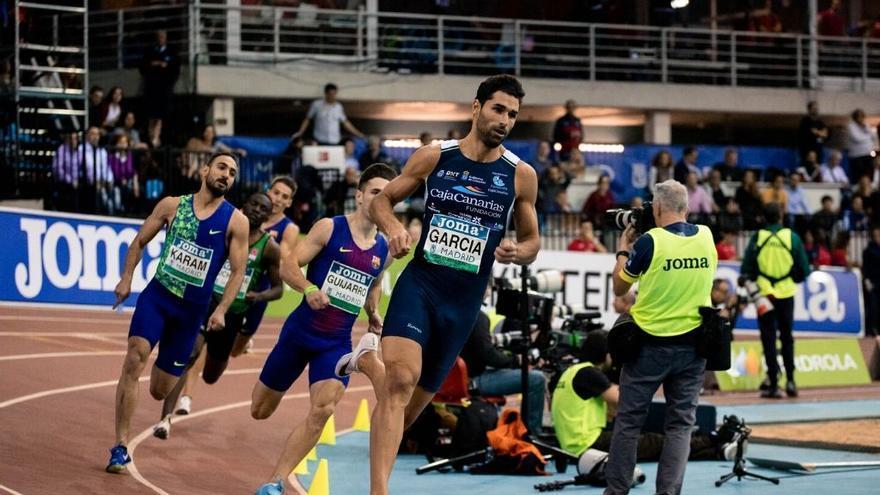 Samuel García, segunda mejor marca europea del año en 400 metros lisos