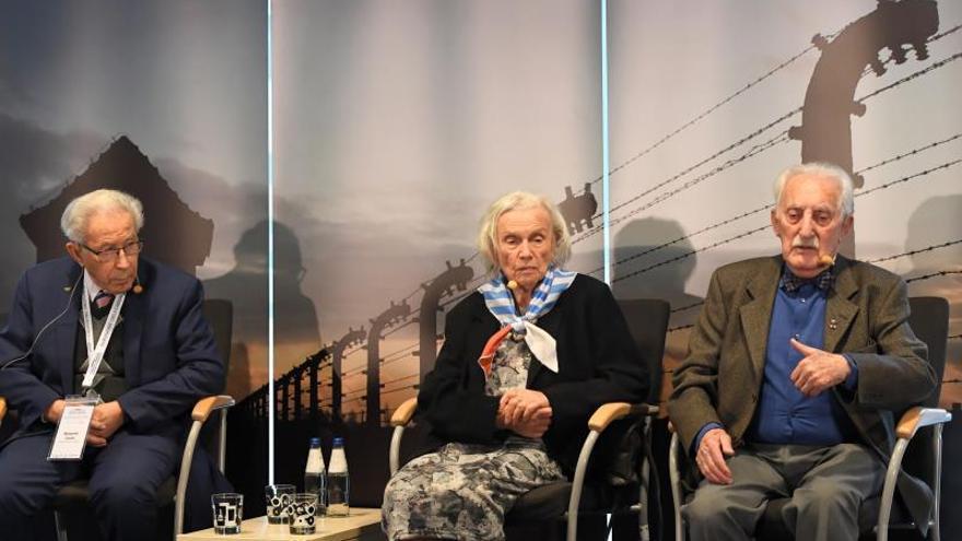 """Supervivientes de Auschwitz: """"No olviden lo que sucedió en el Holocausto"""""""