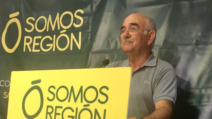 Alberto Garre, líder de Somos Región
