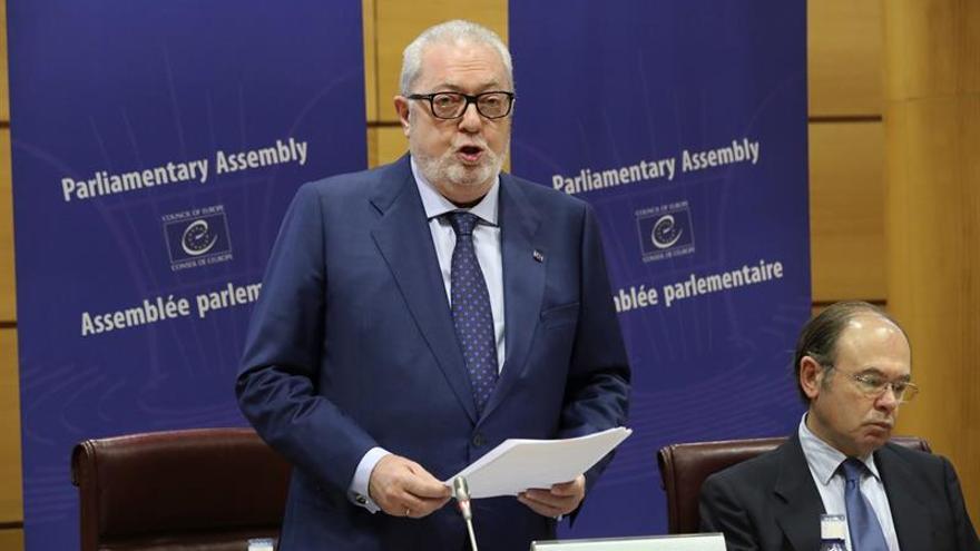El senador Pedro Agramunt