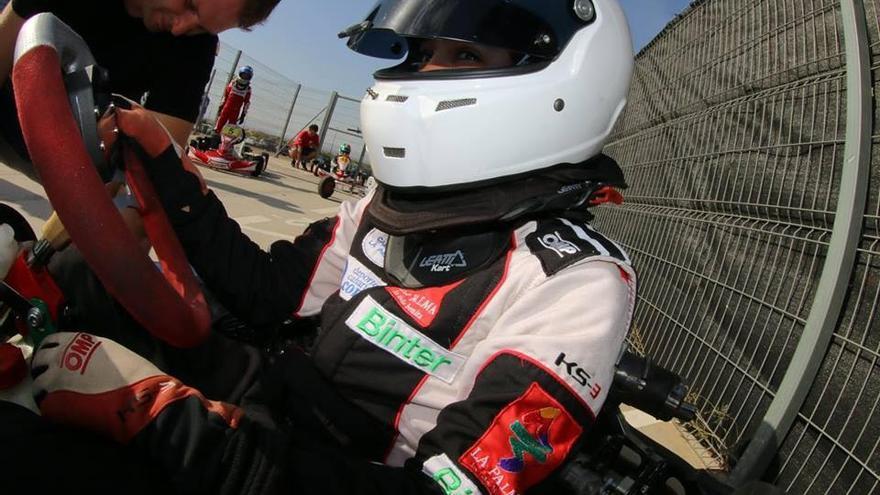 Santi Concepción se prepara para una nueva competición en Zaragoza.